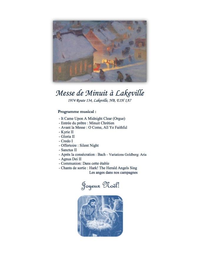 Lakeville - Messe de Minuit