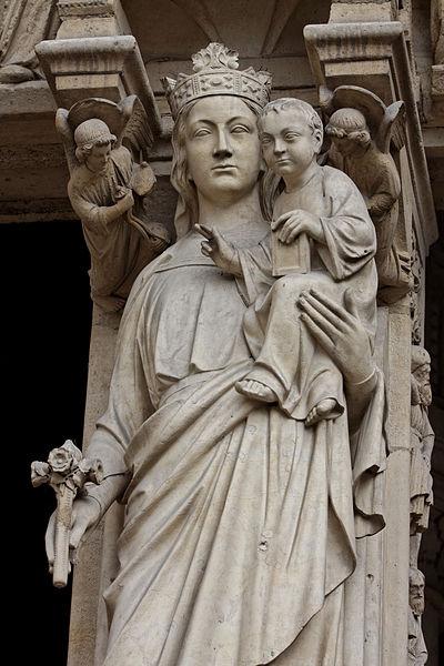 400px-Paris_-_Cathédrale_Notre-Dame_-_Portail_de_la_Vierge_-_PA00086250_-_019
