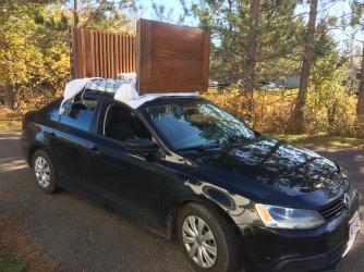 Transport du meuble