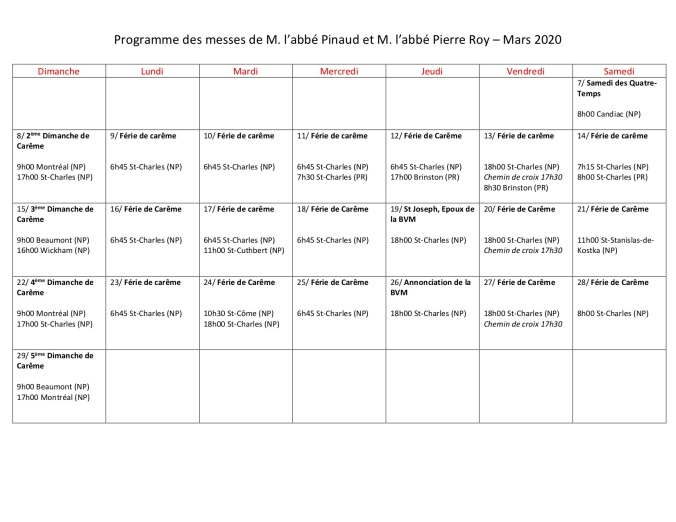 Programme Abbe Pinaud 2020-03 - Version 1